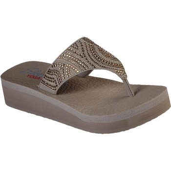 Shoes Women Flip flops Skechers 31614TPE3 Vinyasa Stone Candy Taupe