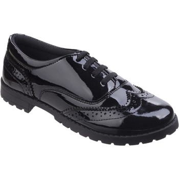 Shoes Girl Derby Shoes Hush puppies Eadie Snr Black Black