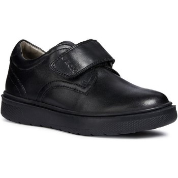 Shoes Boy Derby Shoes Geox J847SG-43-C9999-32 J Riddock B. G Black