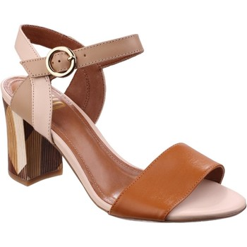 Shoes Women Sandals Riva Di Mare Baxin Multi Leather Tan