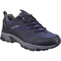 Shoes Men Walking shoes Cotswold Abbeydale Low Blue and Black and Grey