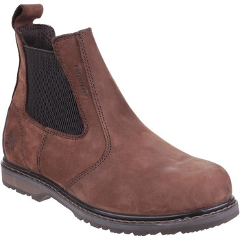 Shoes Men Mid boots Amblers Safety AS148 SPERRIN Brown