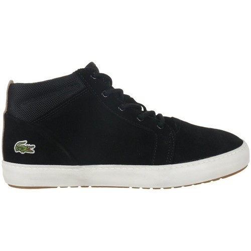 Shoes Women Hi top trainers Lacoste Ampthill Chukka 417 1 Caw Black