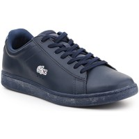 Shoes Men Low top trainers Lacoste Carnaby Evo Wmp Spm Navy blue