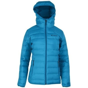 Clothing Women Duffel coats Columbia Lake Down Hooded Blue