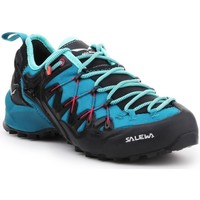 Shoes Women Walking shoes Salewa WS Wildfire Edge Graphite,Blue