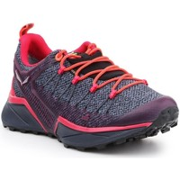 Shoes Women Walking shoes Salewa WS Dropline Gtx Grey,Orange,Violet