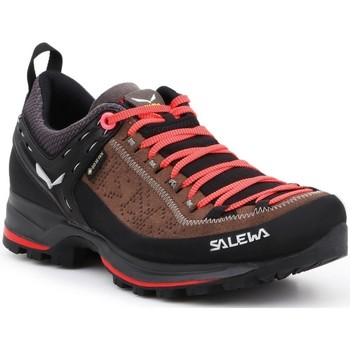 Shoes Women Walking shoes Salewa WS Mtn Trainer 2 Gtx Black,Orange,Brown