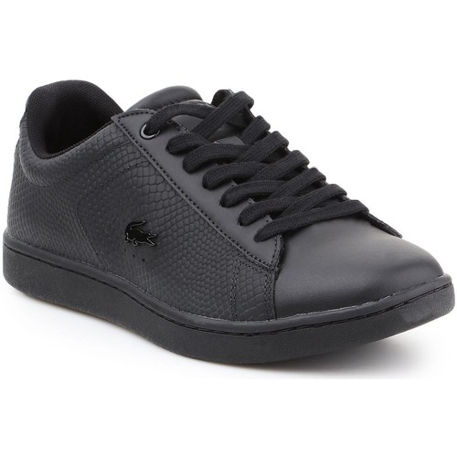 Shoes Women Low top trainers Lacoste Carnaby EVO 7-34SPW0008024 black