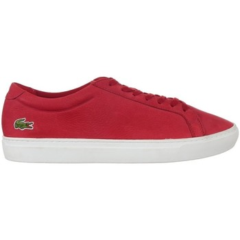 Shoes Men Low top trainers Lacoste L 12 Red