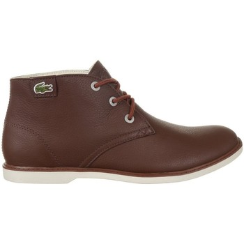 Shoes Women Mid boots Lacoste Sherbrook HI SB Brown