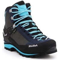 Shoes Women Walking shoes Salewa Salomon WS Crow Gtx Black,Blue