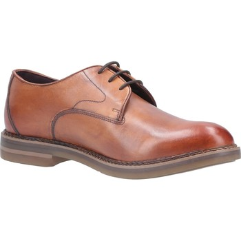 Shoes Men Derby Shoes Base London TZ01241-40 Wayne Burnished Tan