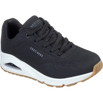 Shoes Women Low top trainers Skechers 73690-BLK-03 Uno Stand On Air Black