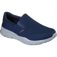 Shoes Men Slip-ons Skechers 232016NVOR6 Equalizer 4.0 Triple-Play Navy and Orange