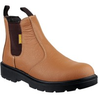Shoes Men Mid boots Amblers Safety FS115 Tan