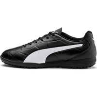 Shoes Boy Football shoes Puma 10572601-4 Monarch TT Jr Black and White