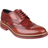Shoes Men Derby Shoes Base London Woburn PI06242 Hi-Shine Tan