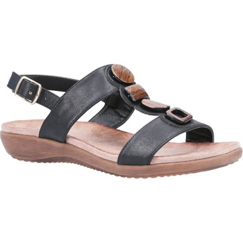 Shoes Women Sandals Fleet & Foster Rosa Black