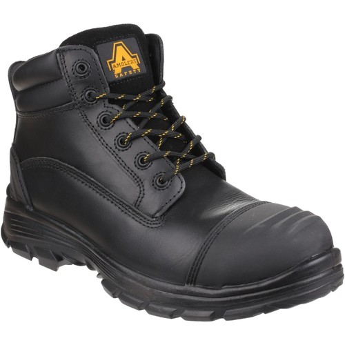 Shoes Men Walking shoes Amblers Safety AS201 QUANTOK Black