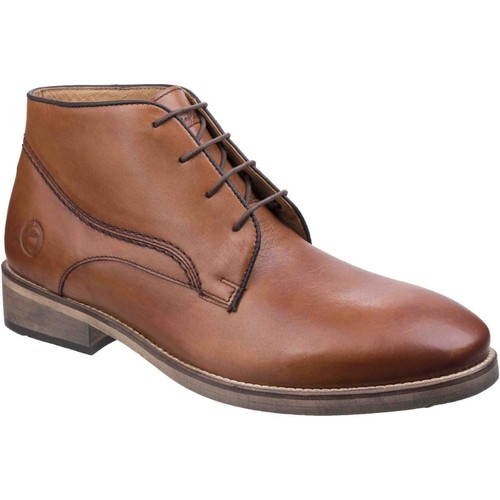 Shoes Men Mid boots Cotswold 3303 Maugesbury Tan