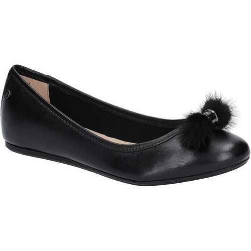 Shoes Women Flat shoes Hush puppies Heather Puff Black