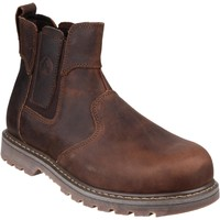 Shoes Men Mid boots Amblers Safety FS165 Brown