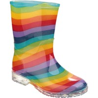 Shoes Girl Wellington boots Cotswold PVC Jnr Rainbow
