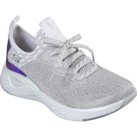 Shoes Women Low top trainers Skechers 149025WSL3 Solar Fuse Gravity Experience White and Silver