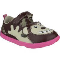 Shoes Children Sandals Zooligans Zoo Bobo The Monkey Girl Brown
