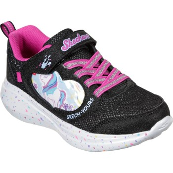 Shoes Girl Running shoes Skechers 302205L-BLK-27 Go Run Fast Miss Crafty Black