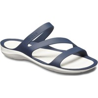 Shoes Women Mules Crocs 203998-462-W5 Swiftwater Navy and White