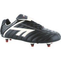 Shoes Boy Football shoes Hi-Tec League Pro Series Screw-In Black and White