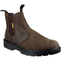Shoes Men Mid boots Amblers Safety FS128 Brown