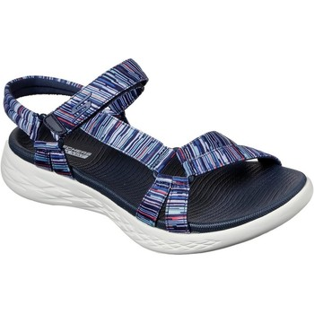 Shoes Women Outdoor sandals Skechers 140013NVMT3 On The Go 600 Electric Navy and Multi