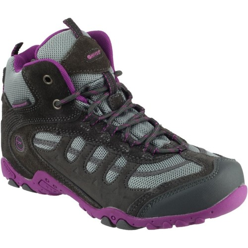 Shoes Girl Walking shoes Hi-Tec O002746-051-01 Penrith Purple