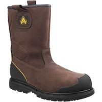 Shoes Men High boots Amblers Safety FS223C Brown