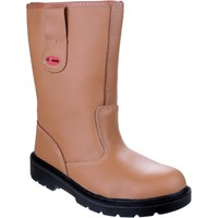 Shoes Men High boots Centek FS334 Tan