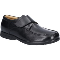 Shoes Men Loafers Fleet & Foster 3672-BLK-13 Fred Black