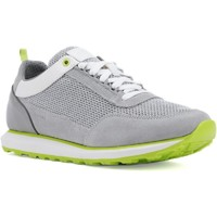 Shoes Men Low top trainers Geox U029WC-02214-C1303 U Volto C Light Grey and White