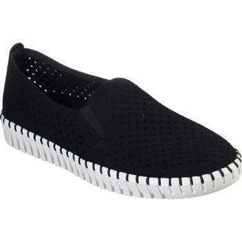 Shoes Women Espadrilles Skechers 23967BKW3 Sepulveda Blvd A La Mode Black and White