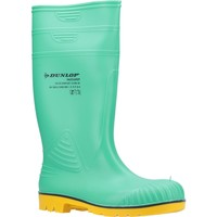 Shoes Men Wellington boots Dunlop A442AB1.39 Acifort HazGuard Green and Black and Yellow