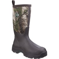 Shoes Men Wellington boots Muck Boots DWT-9RTX Derwent II Black and Bark