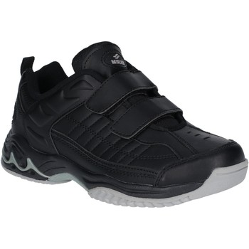 Shoes Boy Low top trainers Mirak Contender Velcro Black