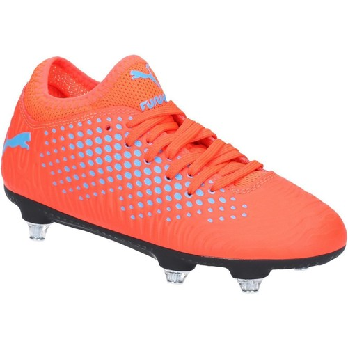 Shoes Football shoes Puma 10555301-1 Future-Screw In Red and Blue