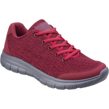 Shoes Women Low top trainers Fleet & Foster Elanor Red