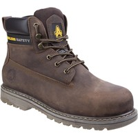 Shoes Men Mid boots Amblers Safety FS164 Brown