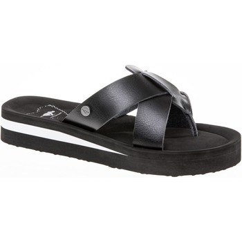 Shoes Women Flip flops Rocket Dog WILMERBN-BLACK-3 Wilmer Burn Black