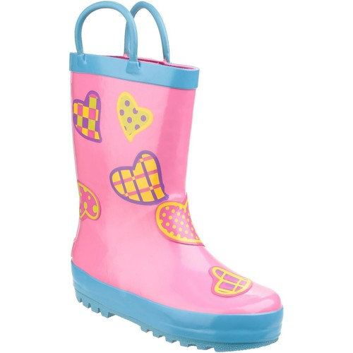 Shoes Girl Wellington boots Cotswold Puddle Hearts