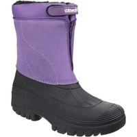 Shoes Women Wellington boots Cotswold Venture Purple